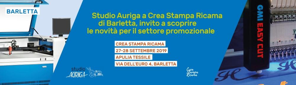 Studio Auriga a Crea Stampa Ricama di Barletta